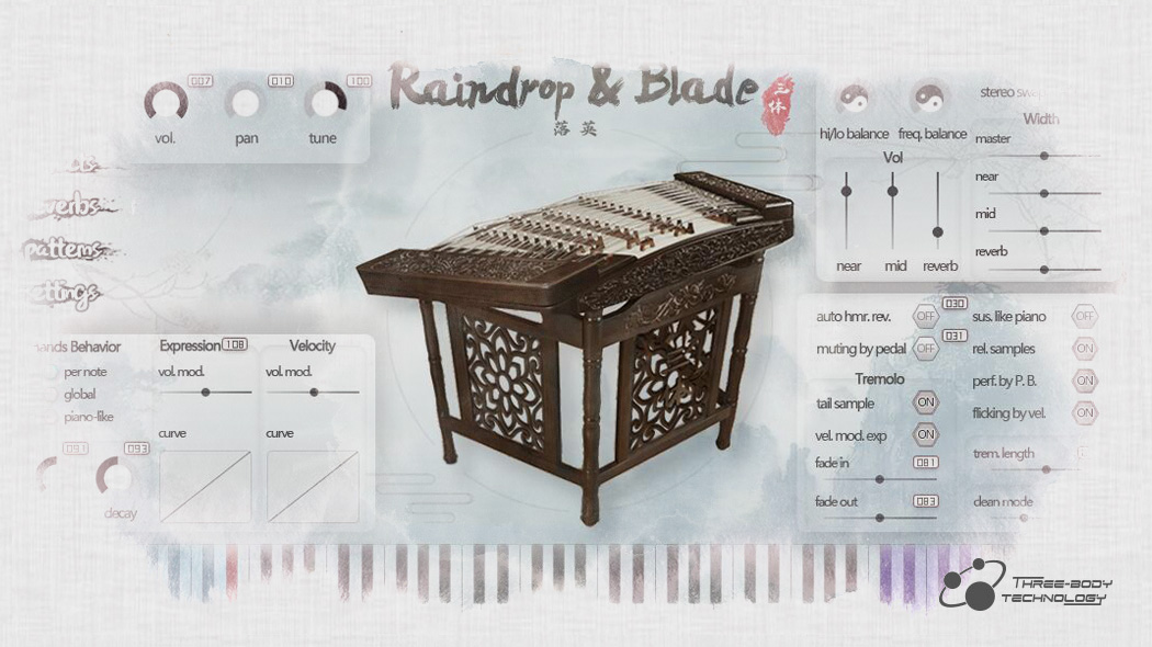 Raindrop & Blade - Virtual Instruments - Three-Body Technology
