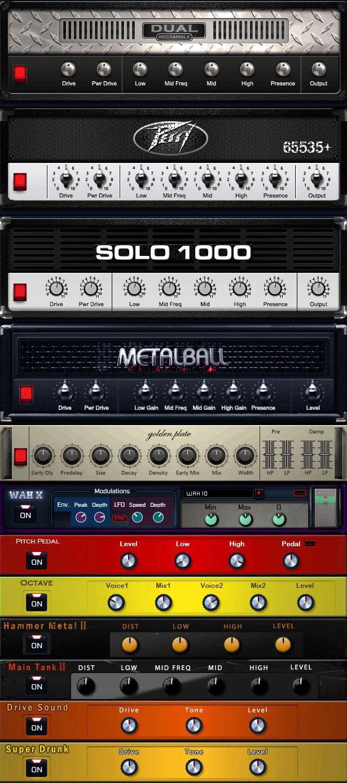 Heavier7strings - Virtual Instruments - Three-Body Technology